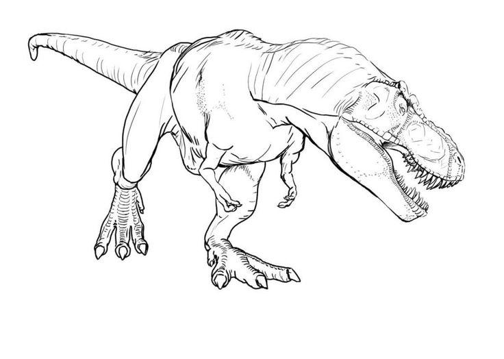 Dibujos Gratis Para Colorear: Dibujos De Dinosaurios Para Colorear Gratis