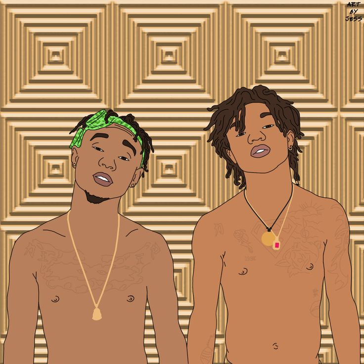 Rae Sremmurd // Swae Lee & Slim Jimmy  http://instagram.com/art__by__jess