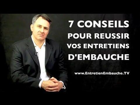 7 conseils pour réussir vos entretiens d'embauche, par Yves Gautier, coach en communication