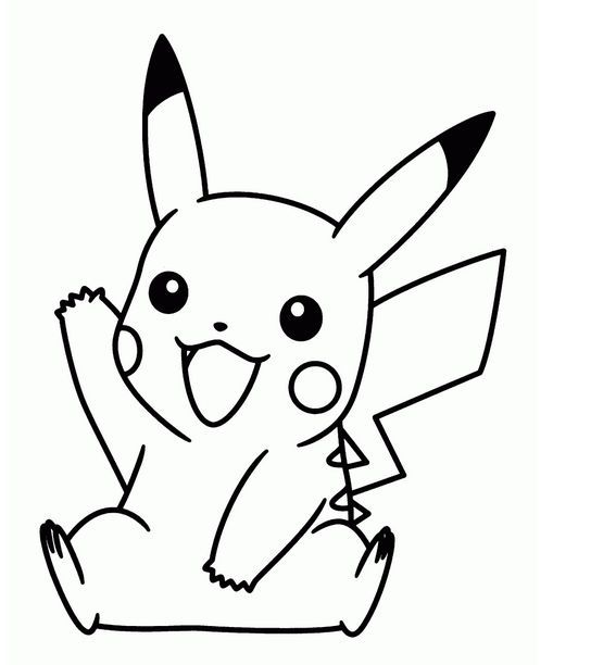 Cute Baby Pokemon Coloring Pages Pikachu Coloring Page Pokemon Coloring Pages Pokemon Coloring In 2021 Pikachu Coloring Page Pokemon Coloring Pages Pokemon Coloring