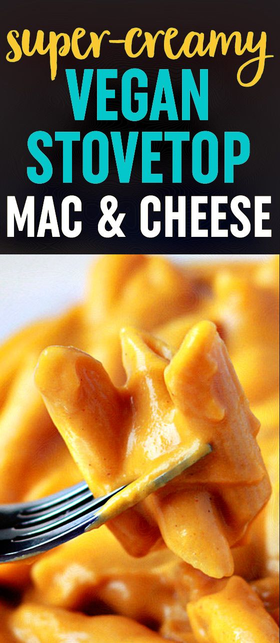 "Vegan Stovetop Mac and ""Cheese"" recipe - made with sweet potatoes ..."