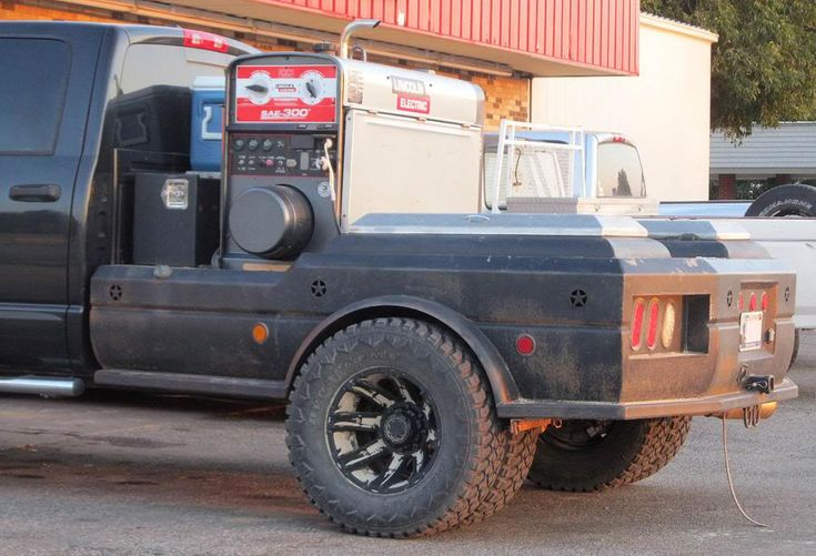 Sweet Welding Truck Bed