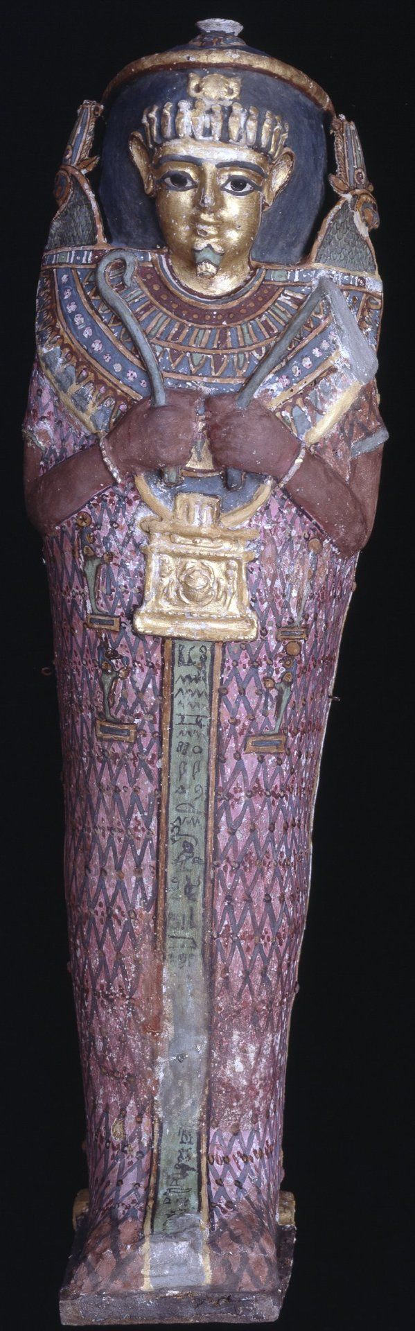 Mummy Case  Graeco-Roman 1st Century BC- 1st Century AD Found Akhmim, Egypt