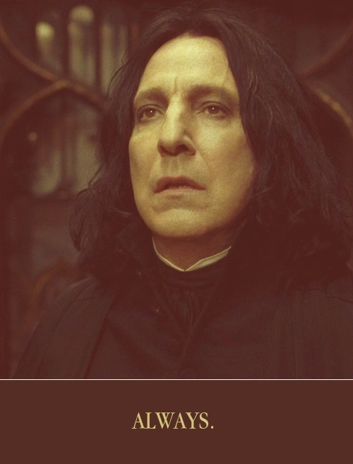 (in love w/ Lilly Potter) So sad! Alan Rickman   Severus Snape in Harry Potter And The Half-Blood Prince (2009)