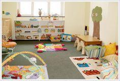 Монтессори комната для деток