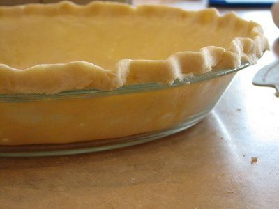 The same Homemade Pie Crust recipe my aunt uses. SO not healthy, but absolutely the best