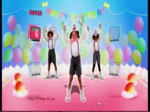 ▶ Just Dance Kids Happy Birthday to You - YouTube