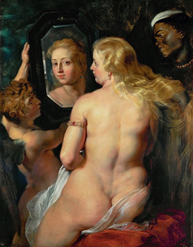 Venus at the Mirror, c.1615 Peter Paul Rubens / https://theartstack.com/artworks/130844410?invite_key=alicokunzeren
