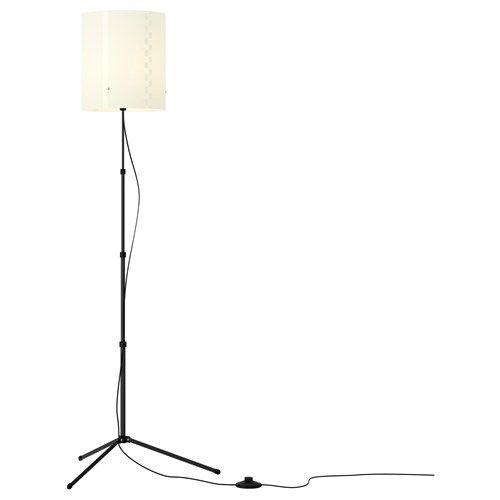 TROGSTA yer lambası, beyaz, 140 cm   IKEA 40 TL