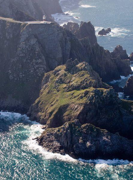 Faro de Cabo Ortegal en los acantilados mas altos de Europa. Cariño (A Coruña). Galicia. Spain - Hotelgranproa.com