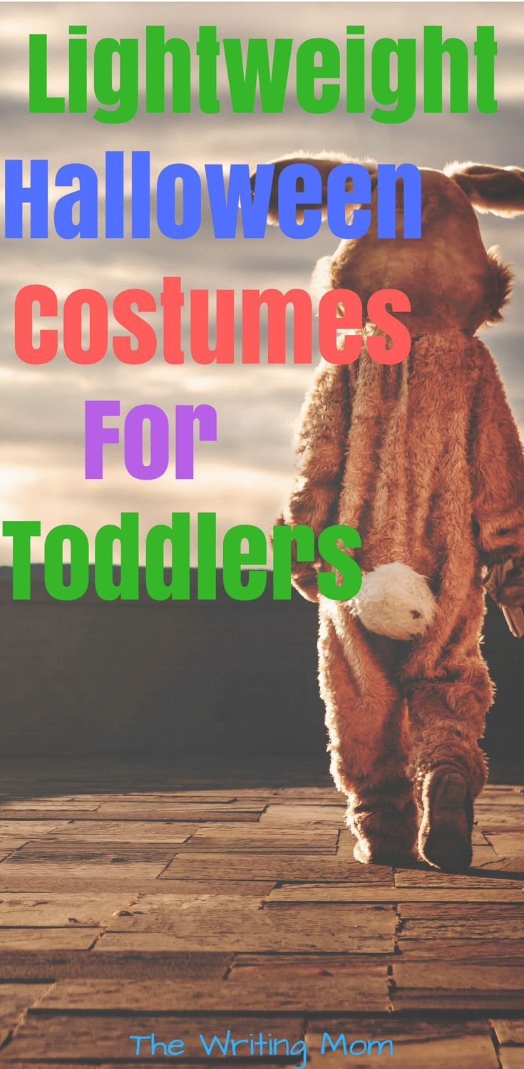 Lightweight toddler halloween costumes for moms who live in warmer climate. #halloween #toddler #costumes