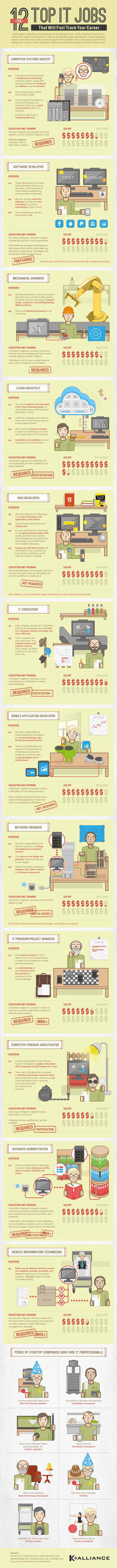 Top 12 IT Jobs that will Fast Track Your Career in 2014