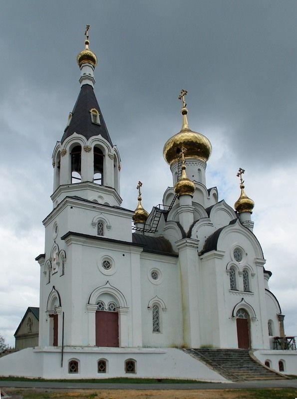 Церковь Николая Чудотворца в Бокино