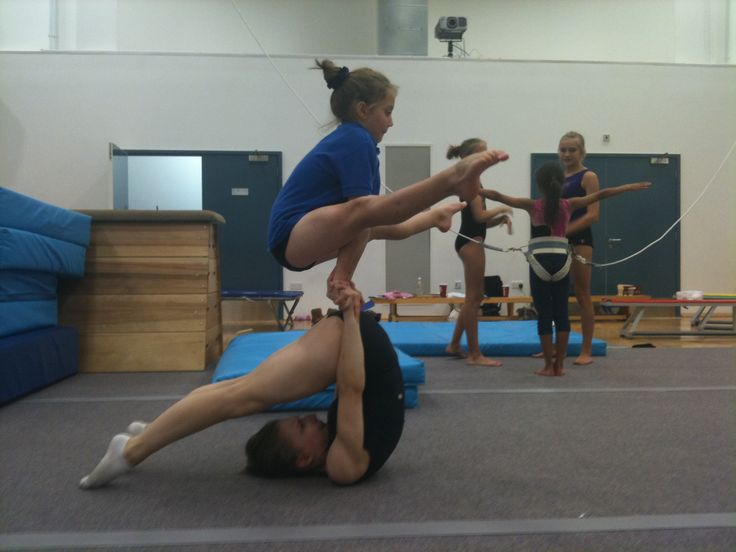 acrobatic gymnastics womens pair 11-16