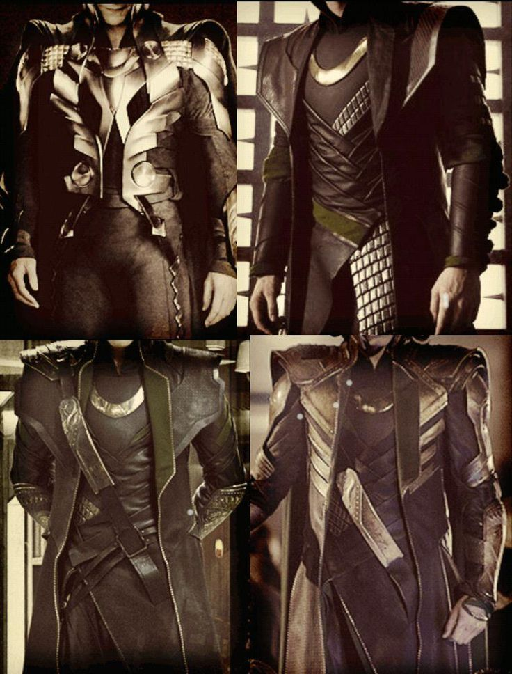 - Yay finally, a reference image for all Loki's costumes