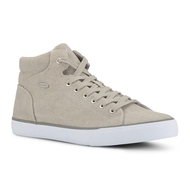 Lugz King Men's High Top Sneakers, Size: medium (11.5), Grey