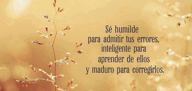 Humilde, inteligente,  maduro. ..