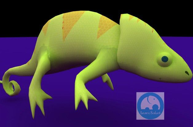 Chameleon! #learnsafari #learnspanish