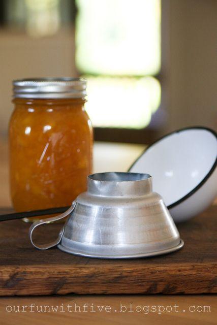 wildly simple: Peach Preserves