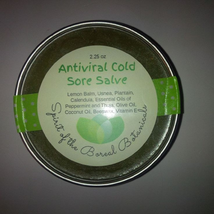 Herbal Antiviral & Cold Sore Salve by spiritoftheboreal on Etsy