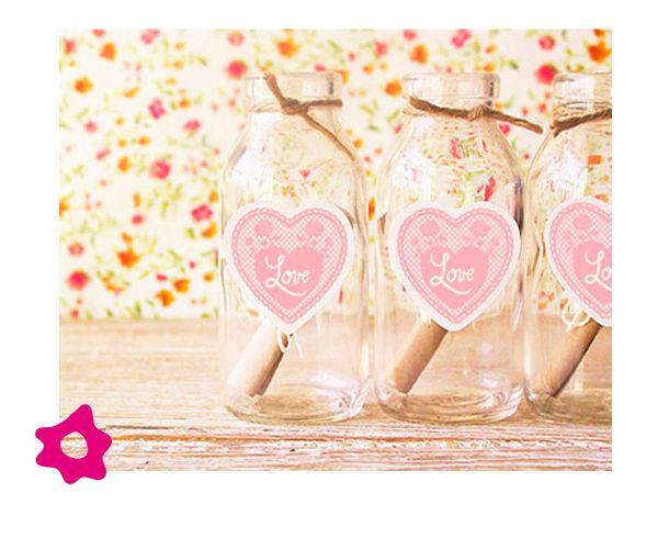 Convites de casamento na garrafa de vidro | Blog da Sofia