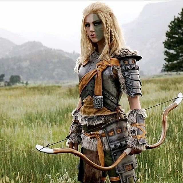@April_gloria as #Mjoll from #Skyrim