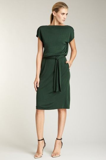 1.14.13 | C cap sleeve boat neck dress | i love this dress!