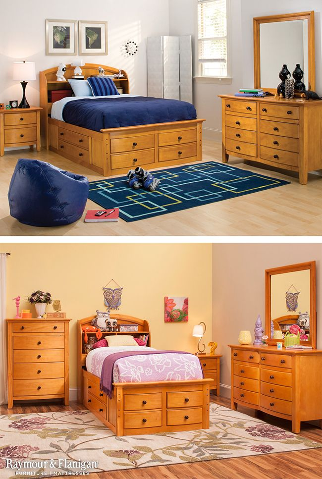 We Love This Kids Bedroom Set! Not Only Does It Have A Beautiful Finish,