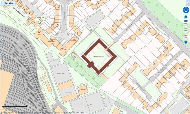 21 Waterlow Court Hampstead Garden Suburb 1909 M H Baillie Scott London Hampstead Suburbs Design Strategy