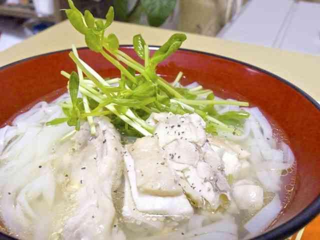 スープから作れる!簡単鶏のフォーの画像