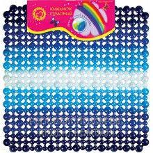 Коврик для ванной противоскользящий (синий) 246 грн. В наличии. Размер: 50х50см. Материал: коврик сделан из высококачественной резины, очень эластичный и крепкий. #запорожье #киев #днепропетровск #дитячийтовар #кривойрог #одесса #родители #украина #дети #діти #children