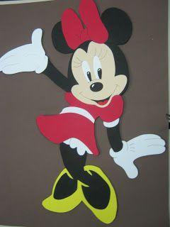 Como Hacer Minnie Mouse En Foamy