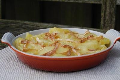 Tartiflette - aardappel/kaas schotel