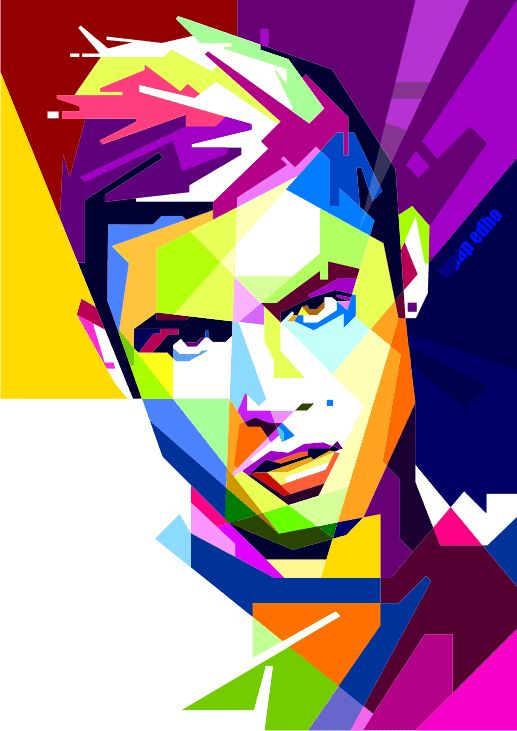 Cristiano Ronaldi wpap edho by edhoartwork on DeviantArt