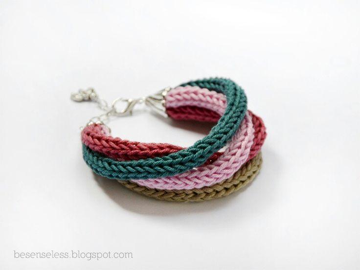 Mejores 43 imágenes de Crochet accessories en Pinterest | Joyas de ...