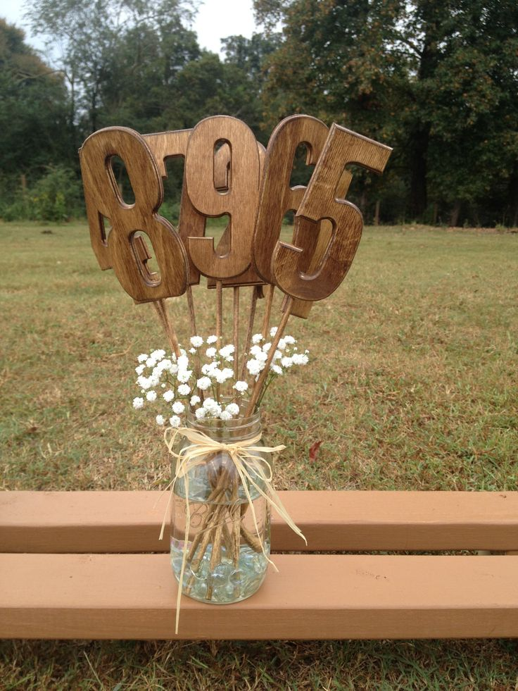 Wooden Table Numbers ~ Best ideas about wooden table numbers on pinterest