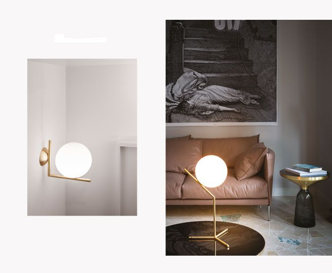 17 best images about let there be light on pinterest lamp design lamps and lighting - Ic lights flos ...