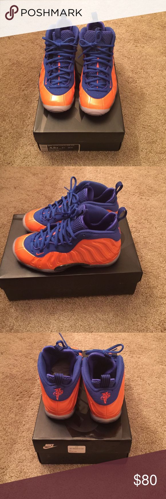 Nike Sneakers (Kids) Knicks foamposites Nike Shoes Athletic Shoes