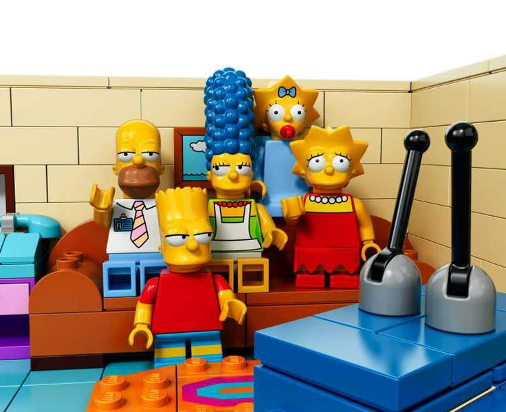 The Simpsons LEGO is Here and It's Hilarious | I WANT THIS!