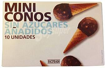 Mini Conos sin azúcares añadidos Hacendado (Mercadona) - 1 unidad 1,5 puntos
