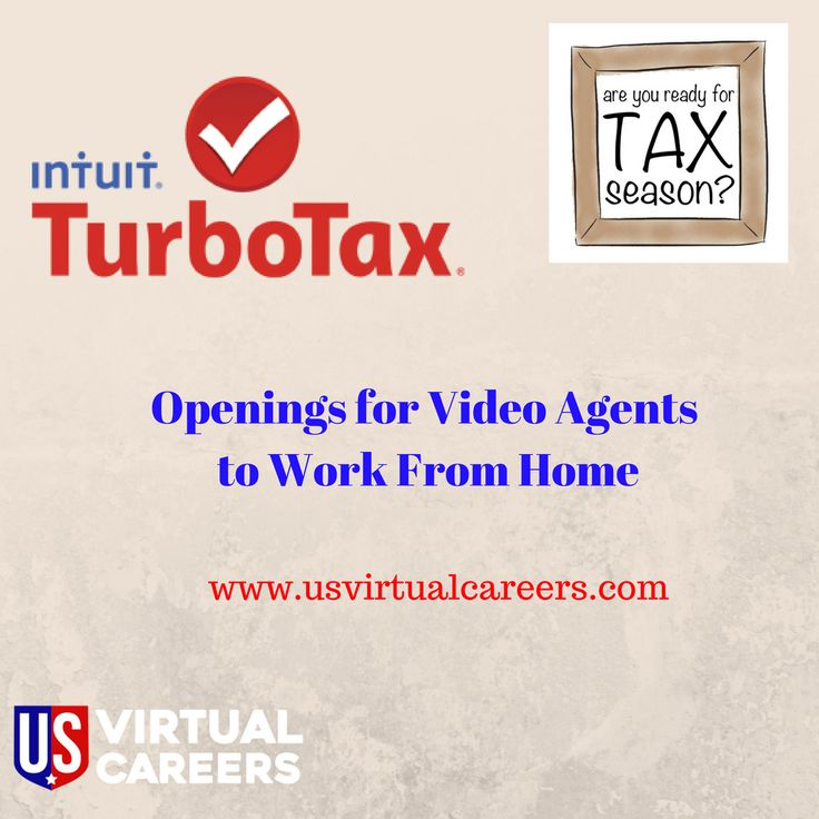 Tax Time is near! Telephone and Video Chat Agents needed