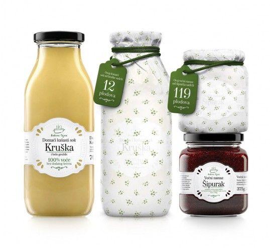 Bakina Tajna - Granny`s Secret | #packaging #bottledesign
