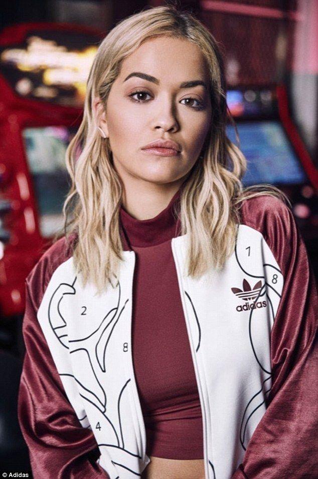 Rita Ora unveils her new Adidas Originals collection in arcade shoot