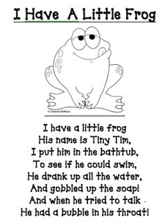 """I learned this poem/song as """"I Had A Little Turtle."""" Still really cute : )"""