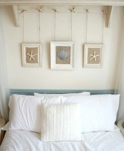 I like this idea over a toilet or headboard