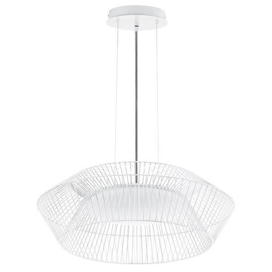 Bedroom 2/3? | PIASTRE 18W LED LIGHT PENDANT WHITE - LED Pendants - Pendant Lights - Lighting Direct