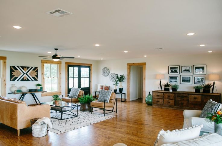 Fixer Upper Paw Paw S House Open Living Area 2016
