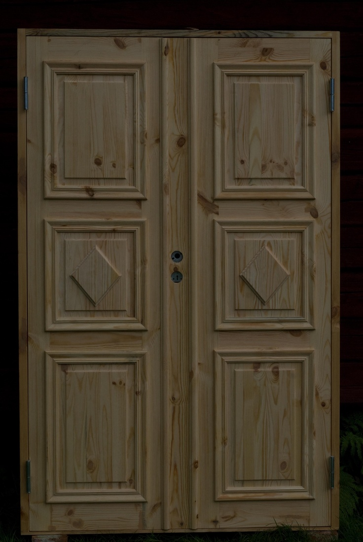 Pardörr - Swedish double-doors