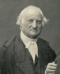 """Antoine-Jérôme Balard (1802-1876), pharmacien et chimiste, qui découvrit le brome et qui """"fut aussi le père du nitrite d'amyle qu'il synthétisa en 1844. Ce dérivé nitré fut le premier dont on découvrit l'action thérapeutique : en 1867 , sir Thomas L. Brunton (1844-1916), un médecin écossais, montra en effet que les crises d'angine de poitrine étaient calmées par l'inhalation d'une dizaine de gouttes de ce soluté huileux imbibant un mouchoir"""". Pharmacie Rullier"""