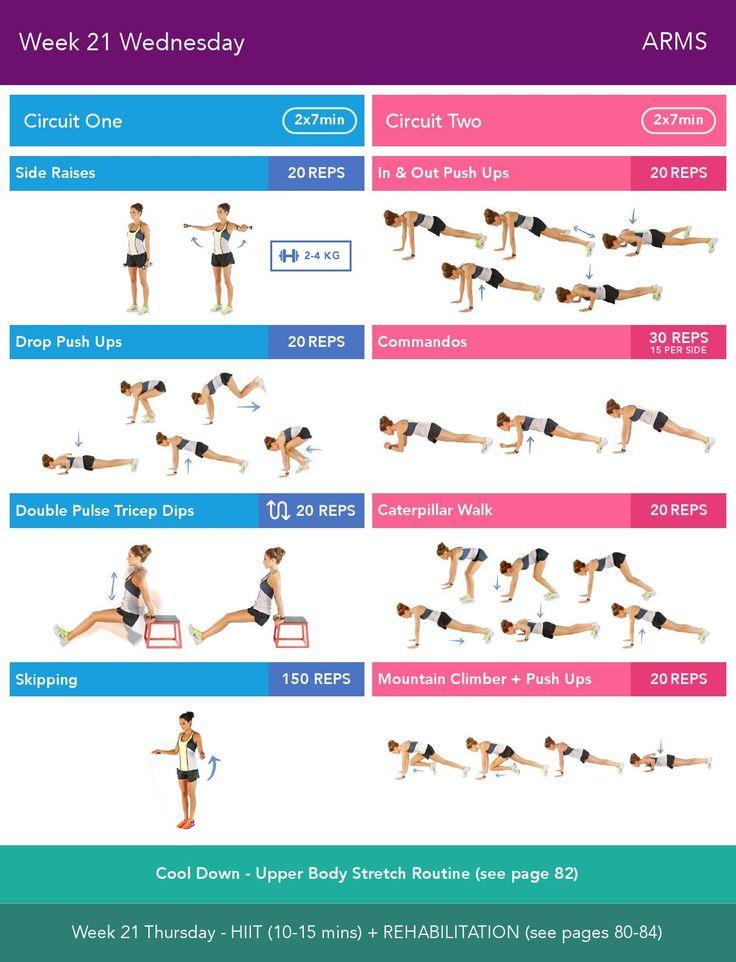 two workout bikini Free week